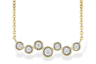 B236-33998: NECKLACE .13 TW
